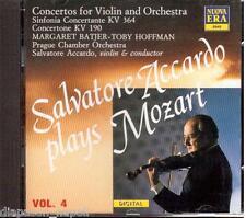 Mozart: Concertone Kv 190, Sinfonia Concertante Kv 364 / Salvatore Accardo - CD