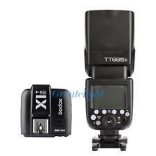 US Godox TT685S 2.4G HSS TTL Flash Speedlite + X1T-S Trigger for Sony a77II a7R