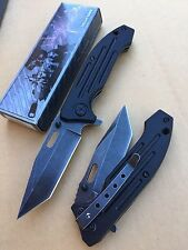 """8"""" Spring  Assisted Tactical Pocket Folding Tech Force Knife"""