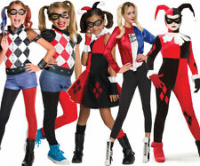 Suicide Squad Official HARLEY QUINN Fancy Dress Costume Ladies Girls Halloween