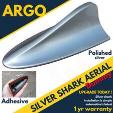 Voiture Argent Shark Fin Antenne Toit Mannequin Antenne Décoration Tuning Chrome