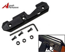 Tactical Side Rail Scope Mount Steel Dovetail Fits Stamped or Milled Receiver