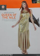 Halloween Adult Women's Queen of the Nile Costume Size Large 12-14 NWT