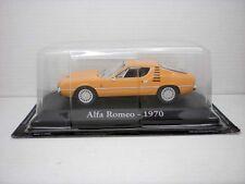 COCHE ALFA ROMEO 1970 1:43 METAL CAR SEAT MINIATURA ITALIA ITALY