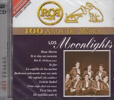 Los Moonlights 100 Anos de Musica 2CD New Nuevo sealed