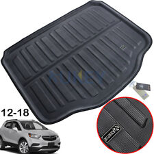 XUKEY Rear Trunk Boot Mat Cargo Liner Tray For Buick Encore Opel Mokka 2013-2019