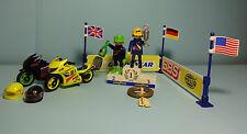 Playmobil Racing ~ Rennmotorräder / Victory Racing Motorcycles (3779)