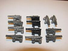 MODEL SHIP BOAT METAL CANNONS FITTINGS Lot of 12
