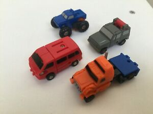 Transformers G1 1989 OFF-ROAD Patrol figure set Micromasters hasbro