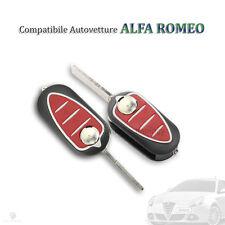 GUSCIO SCOCCA CHIAVE 3 TASTI ALFA ROMEO MITO 159 GIULIETTA GTO KEY SHELL COVER