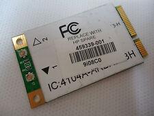 HP 459339-001 Pavilion dv6000 dv9000 g50 802.11b/g Mini PCI Wireless WI-FI Card