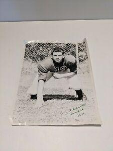 Vintage Photo AMERICAN HIGH SCHOOL FOOTBALL PLAYER 1958-1959 RONALD