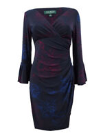 Lauren by Ralph Lauren Women's Jersey Bell-Sleeve Dress
