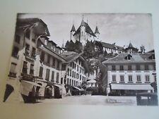 Vintage Real Photo Postcard THUN, RATHAUSPLATZ Franked+Stamped 1974  §A377