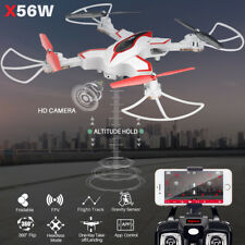 SYMA X56W WiFi FPV Selfie Foldable RC Drone Quadcopter With Remote Controller