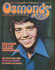 Osmonds' World Magazine Issue No.6    April 1974    The Osmonds