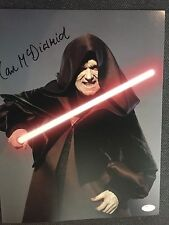 Star Wars Ian McDiarmid  Autographed Signed 11x14 Photo JSA COA #1