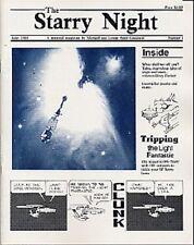 """Star Trek TOS Fanzine """"The Starry Night"""" GEN """"A personal magazine"""""""