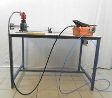 Alfra ALC hydraulisches Schneid- und Stanzgerät für DIN-Profile + Hydraulikpumpe