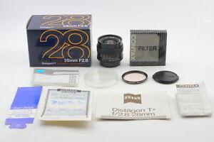 [Top MINT in BOX] Contax Carl Zeiss Distagon T 28mm f/2.8 MMJ MF C/Y Lens JAPAN
