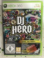 Xbox 360 Dj Hero Espagnol Anglais Allemand Français Italien Pal