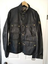 Belstaff UNION JACK TRIALMASTER  jacket In Signature 6 oz. Waxed Cotton size 50