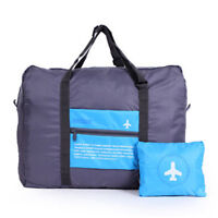 Travel Big Size Foldable Luggage Bag Clothes Storage Carry-On Duffle Bag  Skyblue 27069eaa0ce95