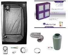 Growroom 60x60x140cm completa kit Cultilite 300W LED Agro +filtro carboni attivi