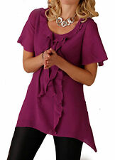 Viscose Short Sleeve Classic Fit Tops & Shirts for Women