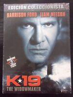 2 DVD (nuevo) K19 The Widowmaker.Harrison Ford,Liam Neeson.Edicion Coleccionista
