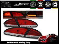 FANALI FARI POSTERIORI LDSE11 SEAT LEON 2005 2006 2007 2008 2009 RED WHITE LED