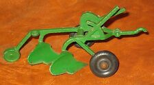 VINTAGE CHILDS FARM PLOW QUALITY CONTROL/REFERENCE TRU-TOY SCALE ROCKFORD