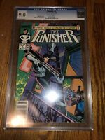 Punisher 1 CGC 9.0 Mike Baron story Klaus Janson cover Marvel 1987 Rare HTF OOP