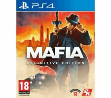 PS4 Mafia Definitive Edition Game Action-Adventure 18+ Single Player - Currys