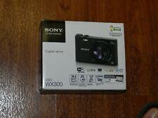 NEW in Open Box - Sony Cyber-Shot DSC-WX300 18.2MP Camera - WHITE - 027242862340