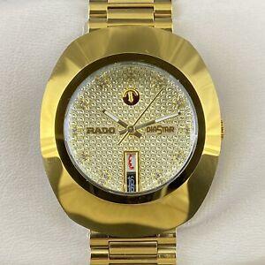 Rado Diastar Day Date Sealed Automatic Men's Excellent Wrist Watch GM325