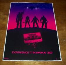Marvel Comics GUARDIANS OF THE GALAXY Movie Premiere IMAX PROMO POSTER NEW
