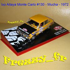 1/43 Ixo * Polski Fiat 125 P * Mucha * Rallye Monte Carlo 1972