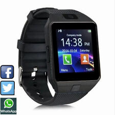 1Pc DZ09 Bluetooth Smart Watch GSM SIM/TF Lot Camera for Android iPhone Black