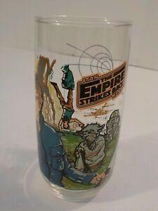 Burger King Drinking Glass Cup Tumbler Star Wars 1980 Empire Strikes Back