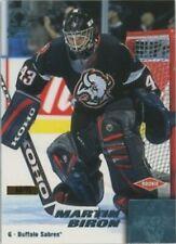 2000 Pacific Omega Ice Blue #25 Martin Biron NM-MT /75 Sabres