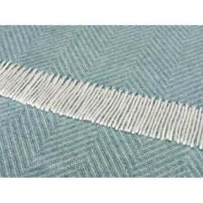 Herringbone Contemporary 100% Wool Decorative Throws