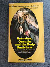 Barnabas Quentin And The Body Snatchers Marilyn Ross Dark Shadows Gothic Pb 1971