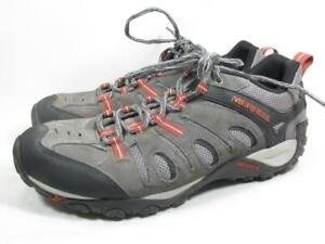 Merrell Crosslander Hiking Shoe Men size 9 Gray