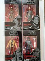 Star Wars: The Black Series Action Figures. LOT of 4 - Luke, Anakin, Finn Hasbro