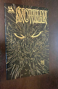 SNOWMAN #0 (Avatar 1997) -- Limited LEATHER VARIANT -- NM- Or Better
