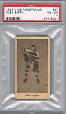 1933 V129 Anonymous Ottawa Senators Hockey Card #47 Alex Smith Graded PSA 4