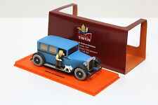 "1:43 TINTIN Taxi Checker blue ""Tim und Struppi"" NEW bei PREMIUM-MODELCARS"