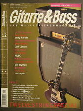 GITARRE & BASS 2005 # 12 - NEIL YOUNG LARRY CORYELL DANDY WARHOLS AC/DC BYRDS