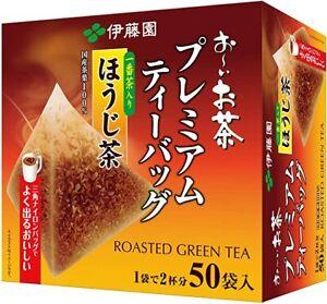 ITOEN Oi Ocha Hojicha Roasted Green Tea PREMIUM tea 50 bags JAPAN Import